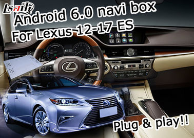 ES250 ES350 ES300h Lexus Video Interface , Android 6.0 Car Navigation Box
